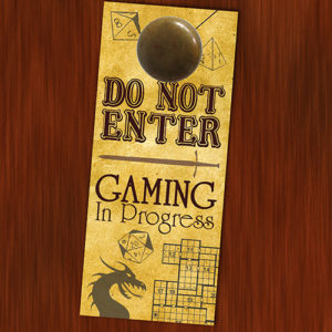 Do No Enter: Gaming In Progress - Preview