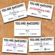 You Are Awesome - Sample Uses